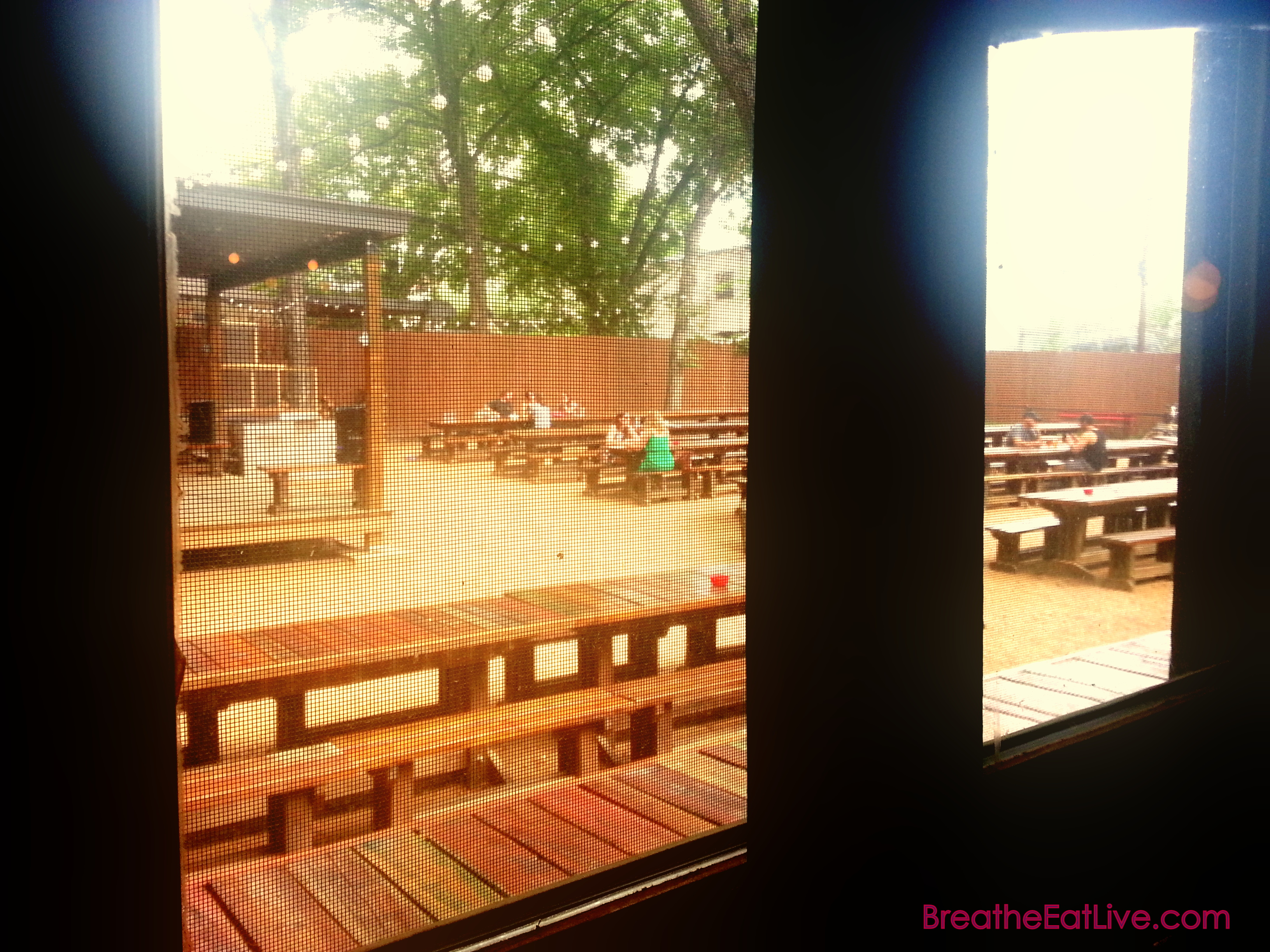 Lunch Date at Bangers Austin Texas breatheeatlive