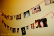 A wall of the couples' best candids